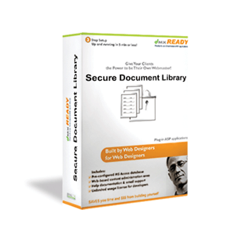 Secure Document Manager integrates Member's Area Manager with Document Library Manager.