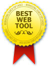 Voted Best Web Tool - Web Hosting Search